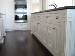 kitchen elegant kitchen design with dark hardwood flooring and