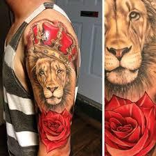 best 25 lion and rose tattoo ideas on pinterest lion tattoo