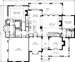 southern living floorplans amelia place architect southern living house plans