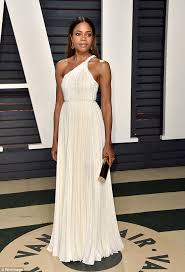 Vanity Fair After Oscar Party Naomie Harris Stuns In Gown At Vanity Fair Oscar Party Daily
