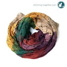 simple pattern crochet scarf wrap me in diamonds crochet scarf stitching together