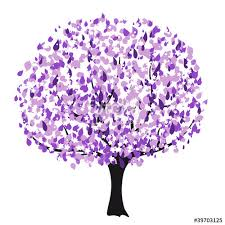 purple vector tree stock image and royalty free vector files on