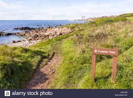 The Fife Coastal Path Home Signs Scotland Stock Photos U0026 Signs Scotland Stock Images Alamy