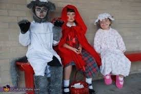 Granny Halloween Costumes Red Riding Hood Big Bad Wolf Granny Costumes Kids