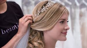 bridal hairstyle ideas 3 wedding hair ideas with matching accessories youtube