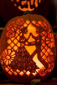 geeky pumpkin carving ideas gorgeous pumpkins at dia de los muertos denverbotanicgardens