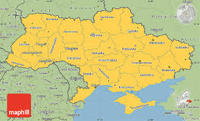 map ukraine savanna style simple map of ukraine