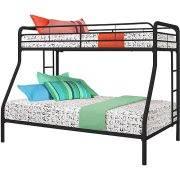 Dorel Twin Over Full Metal Bunk Bed Multiple Colors Walmartcom - Walmart bunk bed