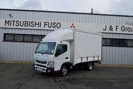 truck mitsubishi canter new mitsubishi fuso canter 3 5 ton curtain side over 1 ton payload