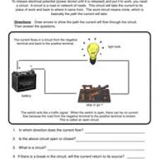 electricity worksheets have fun teaching