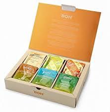 amazon com boh assorted flavors tea sampler christmas gift set