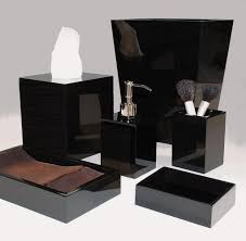 Black Bathrooms Ideas by Black Bathroom Set Bathroom Decor