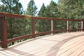 curved deck railing ideas that don u0027t require a custom system
