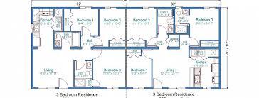 Floor Plans For Duplex Houses Ranch Style Duplex Floor Plans Google Search Duplexes And