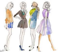 fashion sketches for beginners easy outlook