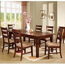 Mission Style Dining Room Sets by Amazon Com Priscilla Mission Style Antique Oak Finish 5 Piece