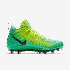 Free Green by Nike Alpha Menace Pro Mid Men U0027s Football Cleat Nike Com