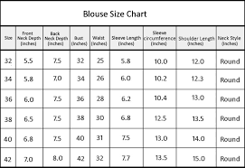 blouse size chart buy platinum traditional royal silk embroidery readymade blouse