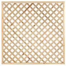 arched framed diagonal trellis 80cmh