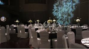 Toronto Wedding Decorator Mapleleaf Decorations Sparkly Bling Pewter Silver Wedding