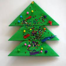 kids christmas tree craft christmas lights decoration