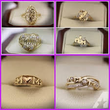 mothers rings gold gold mothers day rings black gold mothers ring birthstones