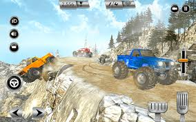 Monster Truck Racing Game Crazy Offroad Adventure Android Apps