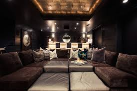 pit sectional contemporary media room alice lane home