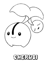 cherubi coloring pages hellokids com