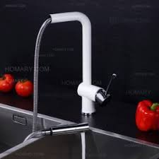 new chrome pull out kitchen faucet square brass kitchen mixer sink single handle square pull out brass kitchen faucet in brushed