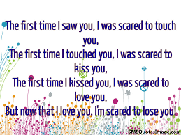 Time Love Quotes by The First Time I Saw You Love Sms Quotes Image
