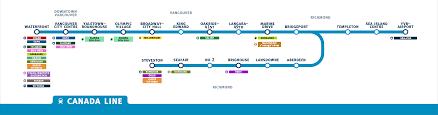 Map Vancouver Canada by Transit In Metro Vancouver U2013 David Danos