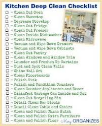 Commercial Kitchen Cleaning Checklist by Commercial Kitchen Cleaning Procedures Kitchen