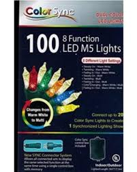 amazing deal on color sync 8 function led m5 string lights