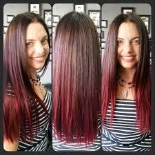 black hair to raspberry hair best 25 raspberry hair color ideas on pinterest raspberry hair