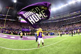 Minneapolis Flag Vikings Fan Millie Wall Gets Super Bowl 52 Tickets From Roger Goodell