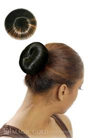 donut bun hair bun large