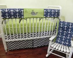 nautical crib bedding set nelson boy baby bedding anchor