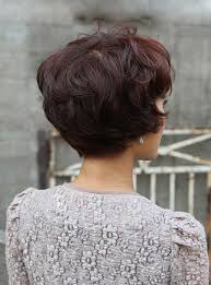 back view wavy short bob for thick hair 2015 pixie haircut back view short hairstyles haircuts 2017