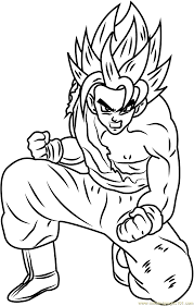dragon ball z coloring pages 31 u0027dragon ball z u0027 worksheets for kids
