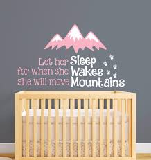 online get cheap baby room decor mountain aliexpress com nordic style mountains quotes wall sticker kids room decor baby nursery art girl bedroom wall decal vinyl home decor murals a673