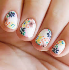 new nail design ideas manicures polish acrylic rose daisy pink