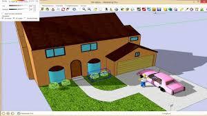 curso sketchup herramientas volumenes ejemplo casa de los