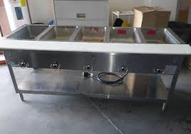 steam table with sneeze guard duke 4 well steam table cabinet food bar buffet warmer w sneeze