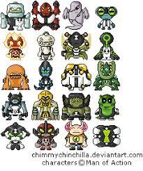 ben ten ultimate alien aliens names list