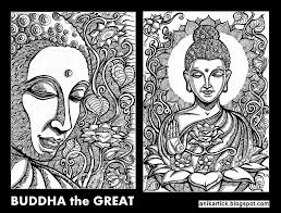 buddha gautama buddha painting drawing art illus u2026 flickr