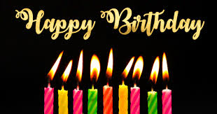 happy birthday candles birthday candles