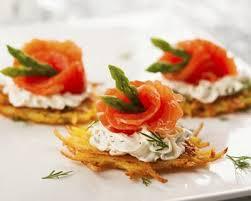 id e canap ap ritif recette mini röstis apéritifs au saumon fumé facile rapide