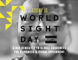 World Blindness Day Toms See The Difference World Sight Day Milled
