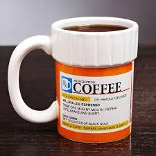 prescription coffee mug kitchen geek